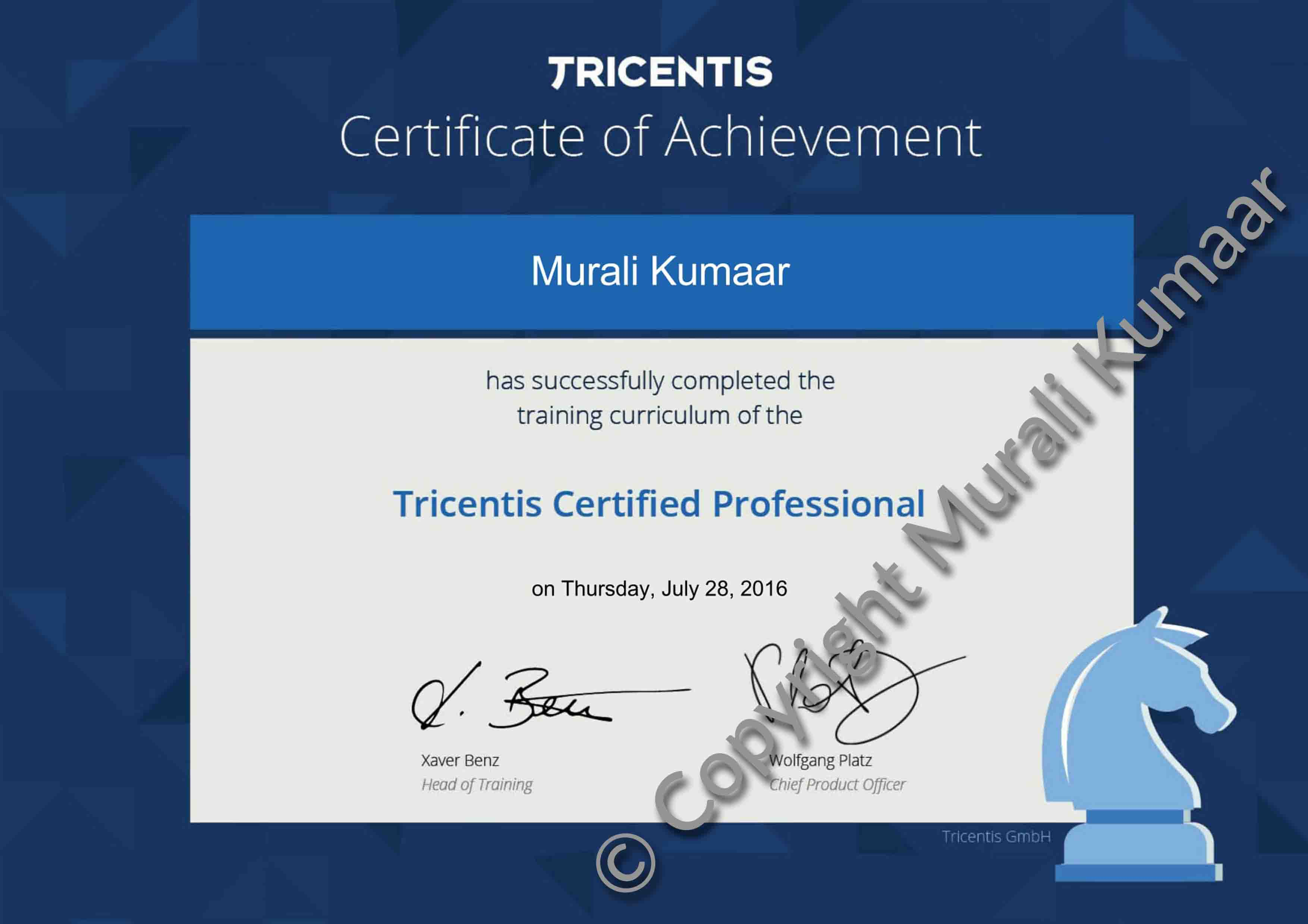 IBM Certified Deployment Professional Certificate